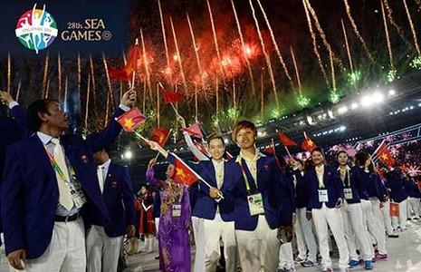 SEA Games 28 chính thức khai mạc: Ngọn lửa Sea Games - ảnh 1