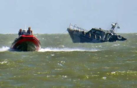 Lực lượng ly khai đánh chìm tàu tuần tra Ukraine? - ảnh 1