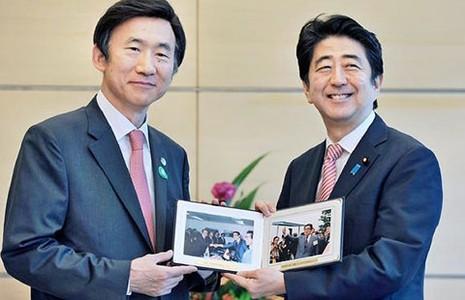 Nhật và Hàn Quốc đều muốn gác bỏ quá khứ - ảnh 1