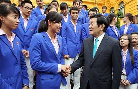 Chủ tịch nước: Thể thao Việt Nam cần vươn xa hơn tầm châu lục - ảnh 1