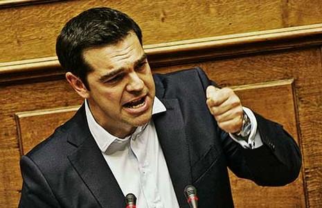 Hy Lạp không trả nợ cho IMF đúng hạn - ảnh 1
