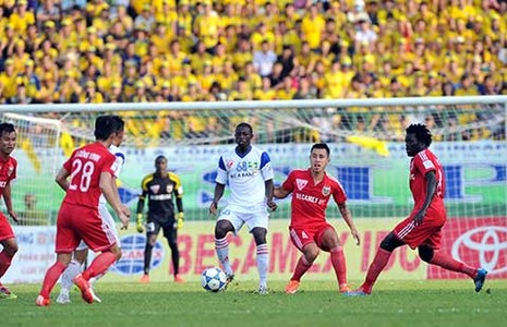 V-League 2015: Tài sản quý của bóng đá xứ Nghệ  - ảnh 1