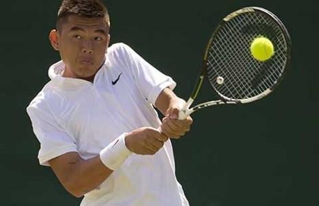 Giải quần vợt trẻ Wimbledon 2015: Kỳ tích Lý Hoàng Nam - ảnh 1