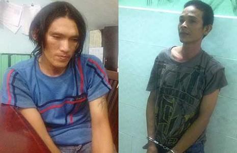 Bắt nhóm cướp giật lộng hành trước KCN - ảnh 1