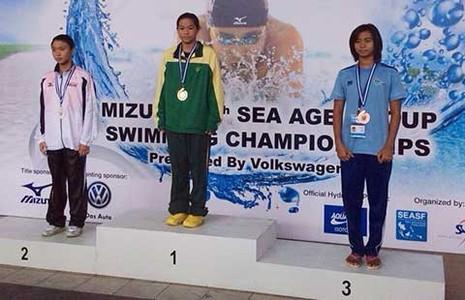 VĐV bơi lội Phương Trâm kiện Trung tâm Yết Kiêu - ảnh 1