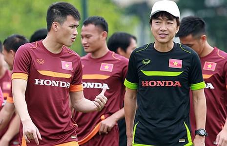 Việt Nam - Manchester City: Bầu Hiển ghi bàn - ảnh 1