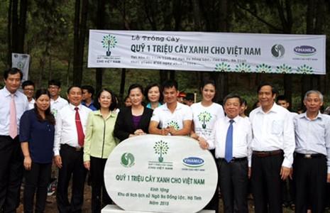 Gieo mầm xanh mới trên vùng đất Hà Tĩnh - ảnh 2