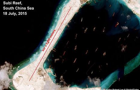 Ảnh vệ tinh mới chụp đá Xu Bi - ảnh 1