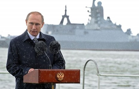 Nga công bố học thuyết hàng hải mới - ảnh 1
