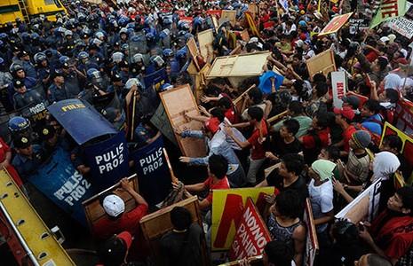 Tổng thống Aquino kêu gọi chống kẻ thù  - ảnh 1