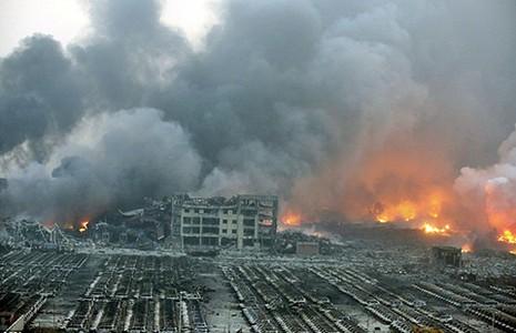 Trung Quốc: Nổ kho hóa chất, 44 người chết - ảnh 1