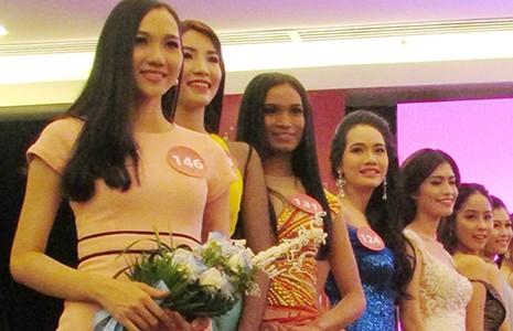 Sơ khảo 'Hoa hậu hoàn vũ 2015' phía Nam: Nhiều gương mặt cũ - ảnh 1