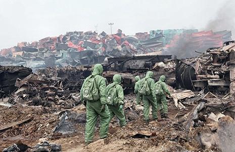 Hàng trăm tấn cyanide tại vụ nổ Thiên Tân  - ảnh 1
