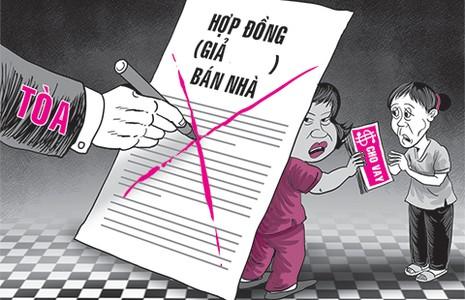 Tòa 'phá' hợp đồng gian dối - ảnh 1