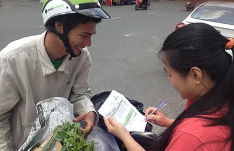 'Săn' rau hữu cơ giá cao trên mạng - ảnh 1