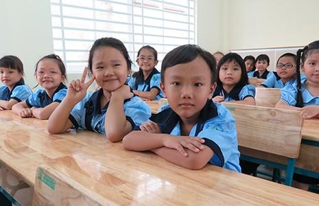 Niềm vui được học trong ngôi trường mới - ảnh 3