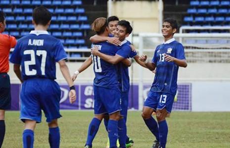 U-19 Đông Nam Á: Thua đậm Thái Lan - ảnh 1