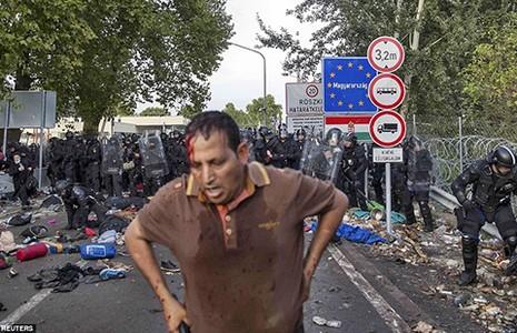 Bạo động ở biên giới Hungary - ảnh 1