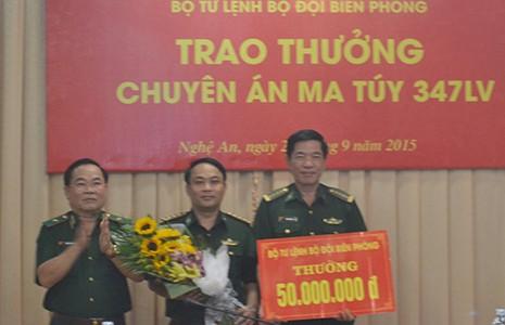 Bắt lượng ma túy lớn từ Lào vào Nghệ An - ảnh 1