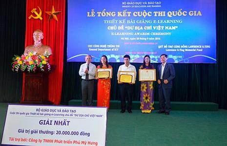 Thiết kế bài giảng E-Learning với chủ đề 'Dư địa chí Việt Nam' - ảnh 1
