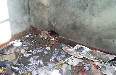 Phòng trọ nổ tung vì người thuê trữ thuốc pháo - ảnh 1