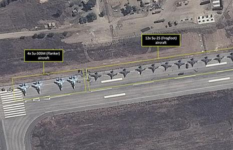 Nga triển khai 28 máy bay đến Syria - ảnh 1