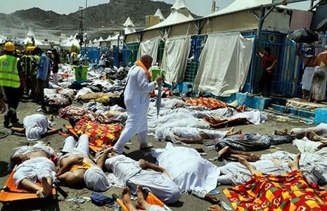 Hơn 700 người hành hương bị giẫm chết   - ảnh 1