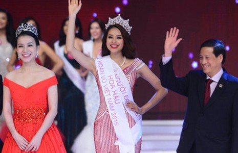 Hoa hậu Hoàn vũ Việt Nam 2015: Những kỷ lục hậu trường - ảnh 2