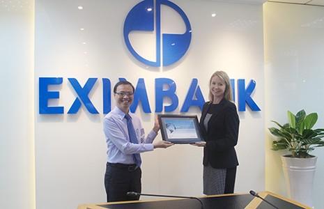 Eximbank nhận giải thưởng về thanh toán quốc tế - ảnh 1
