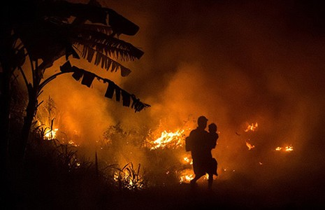 Cháy rừng tại Indonesia: Đe dọa sức khỏe cả khu vực - ảnh 1
