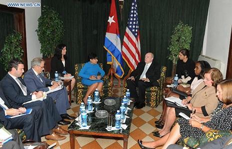 Bộ trưởng Thương mại Mỹ đến Cuba - ảnh 1