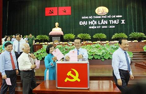 Hôm nay TP.HCM công bố kết quả bầu cử Đại hội X - ảnh 1