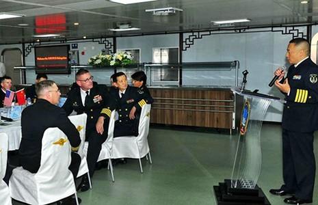 Phái đoàn hải quân Mỹ lặng lẽ sang Trung Quốc  - ảnh 1
