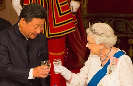 'Thập kỷ vàng' Trung Quốc-Anh - ảnh 1