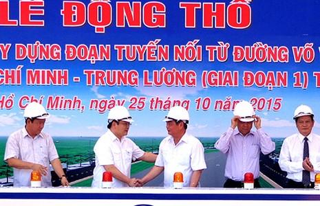 Xây đoạn nối đường Võ Văn Kiệt vào cao tốc TP.HCM - Trung Lương - ảnh 1