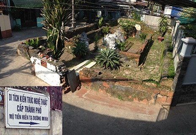 Chuyện lạ mộ cổ Sài Gòn - ảnh 2