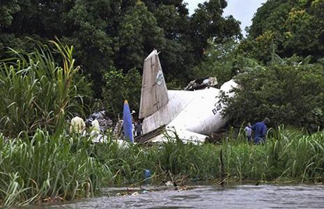 Máy bay vận tải rơi ở Nam Sudan, 39 người chết  - ảnh 1