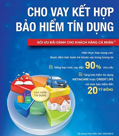VietinBank cho vay đến 90% nhu cầu - ảnh 1