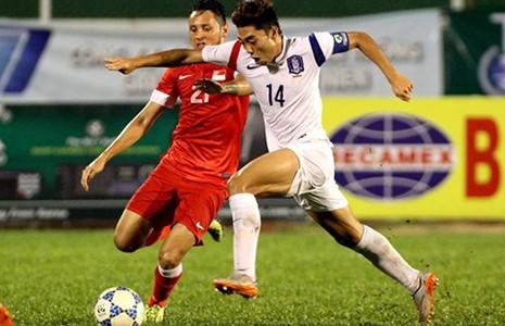 U-19 Hàn Quốc vào chung kết tái đấu U-21 HA Gia Lai - ảnh 1