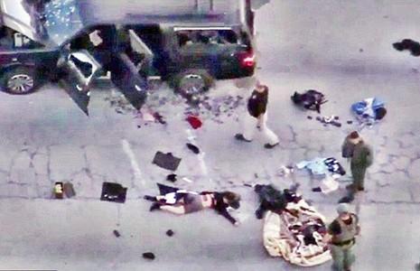 Xả súng thảm sát 14 người ở bang California - ảnh 1