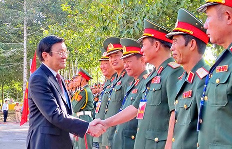 Xây dựng biên giới Việt Nam-Campuchia hòa bình, hợp tác - ảnh 1