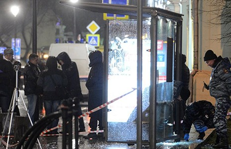 Lựu đạn nổ ở Moscow chưa phải khủng bố - ảnh 1