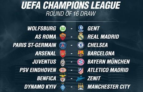 Vòng knock out Champions League: Kỳ phùng địch thủ - ảnh 2