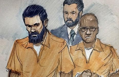 Hai bị cáo âm mưu tấn công căn cứ Mỹ ra tòa - ảnh 1