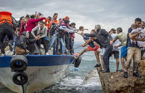 Sáu nước EU đón hơn một triệu người di cư - ảnh 1