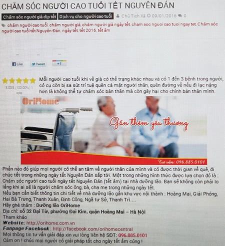 'Căng' tìm người chăm sóc người già ngày tết - ảnh 2
