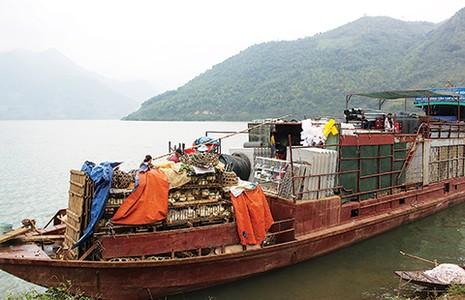Chợ phiên độc đáo dọc sông Ðà - ảnh 1