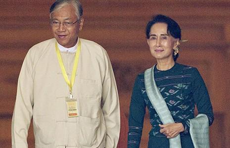 Chân dung tổng thống Myanmar - ảnh 1