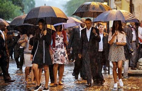 Tổng thống Obama dạo phố Havana - ảnh 1