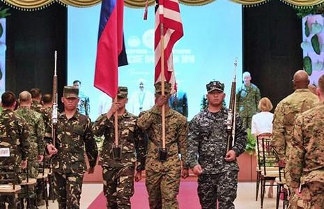Bộ trưởng Quốc phòng Mỹ sẽ thị sát cuộc tập trận Balikatan - ảnh 1